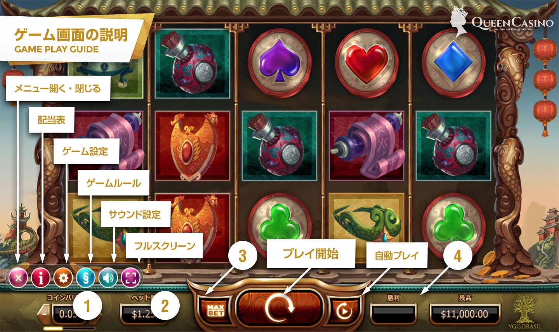 Legend of the Golden Monkey  –  レジェンド・オブ・ザ・ゴールデン・モンキー   – ゲーム画面説明