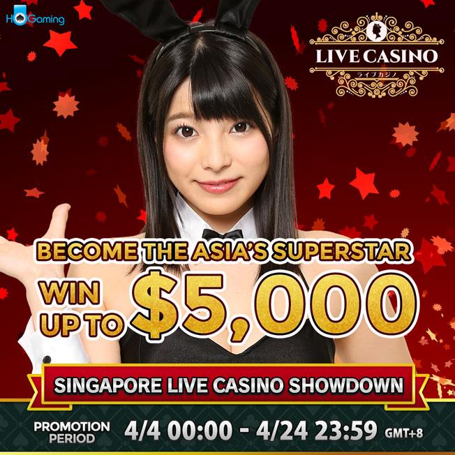 SINGAPORE LIVE CASINO SHOWDOWN